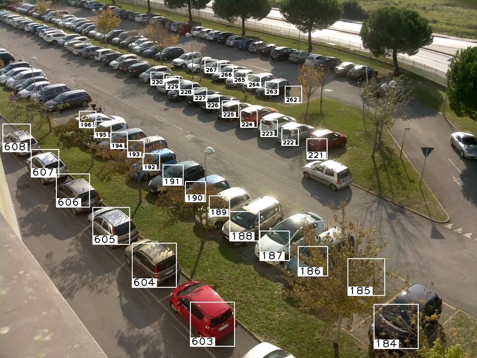 CNR Parking Dataset - Dataset for visual occupancy detection of